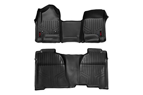Rough Country Floor Liners (fits) 2014-2018 Chevy...