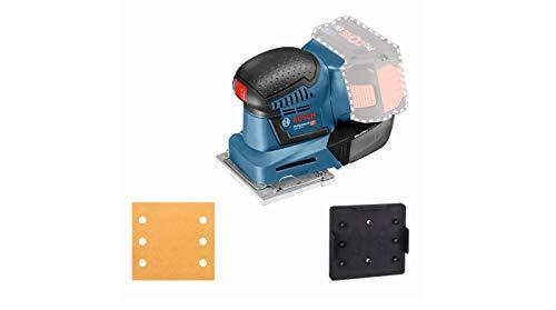 Bosch Professional GSS 18 V - 10 Cordless Detail Sander (Battery not Included, Orbit Diameter: 1.6 mm, in Cardboard Box), 18 V, Navy Blue