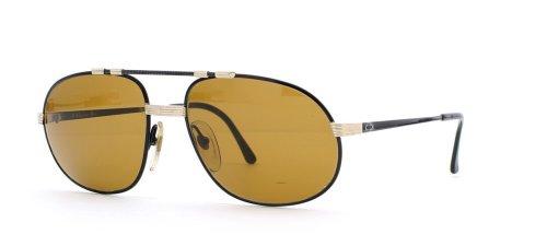 Christian Dior Herren Sonnenbrille Schwarz Black Gold