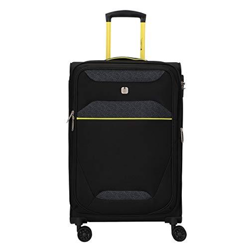 Gabol - Giro | Maletas de Viaje Medianas de 42 x 68 x 29 cm con Capacidad para 70 L de Color Negro