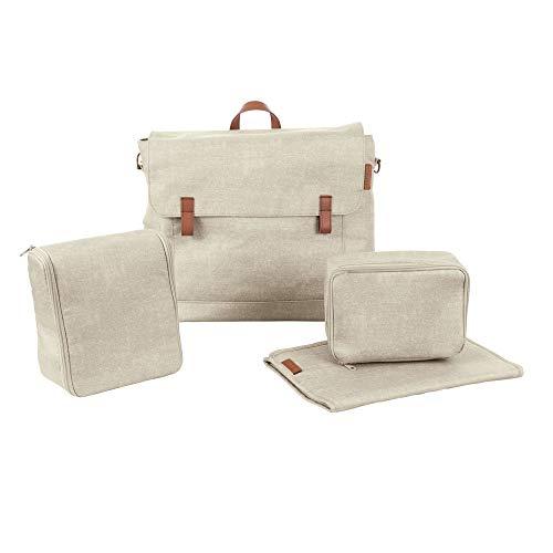 Maxi Cosi Modern Bagpraktische Wickeltasche mit vielen extras, Thermobox, Wickelunterlage, Thermobox, Kulturtasche, Baby-Tasche, Windel-Tasche, nomad sand