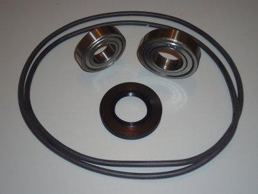 Reparatursatz Trommellager Kugellager Lager für AEG Privileg Waschmaschine Lavamat Bella 40,2x72x11/14 6206ZZ 6207ZZ Rundschnur für Laugenbehälter