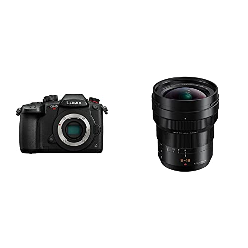 Panasonic Lumix DC-GH5S - Cámara Evil de 10.28 MP + Leica DG Vario-ELMARIT H-E08018 - Objetivo Gran Angular para cámaras de Montura M4 3