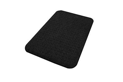 "M+A Matting - 4443012232 GetFit Standup Standing Desk Ergonomic Office Anti-Fatigue Mat 22"" x 32"", Coal Black by"