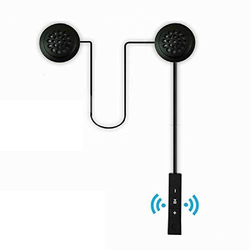 Auriculares Bluetooth para casco de motocicleta, los últimos auriculares inalámbricos con tecnología Bluetooth 4.1 + Edr, manos libres antiinterferencias con micrófono, apto para motocicletas