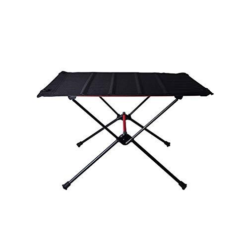 WangQianNan Mesa Plegable Ligera Mesa de Picnic Plegable Ultraligero Muebles de Aluminio Muebles de Aluminio Familia reunión Mesa de Comedor de Mesa de Picnic para Camping/Banquete/Fiesta de Picnic