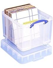 Naprawdę przydatne pudełko do przechowywania 35 litrów XL przezroczyste