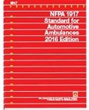 NFPA 1917 2016 Automotive Ambulances