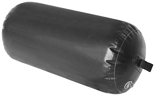 Taylormade Super Duty Inflatable Yacht Fenders, Black, 24 x 42 inch