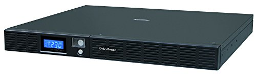 CYBERPOWER OR1000ELCDRM1U 1000 VA/600 W Green Power USB 24 M garantie voor vervanging van software dt.Support SNMP slot