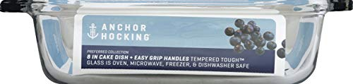Anchor Hocking Oven Basics Casserole Dish 2 Quart Clear