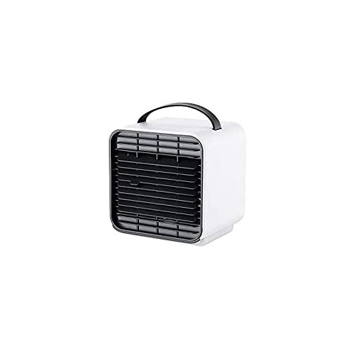 KASAN Mini Enfriador De Aire, Mini Aire Acondicionado Portátil 3 En 1, Enfriador De Aire Y Ventilador Humidificador Y Purificador De Aire para El Hogar Y La Oficina