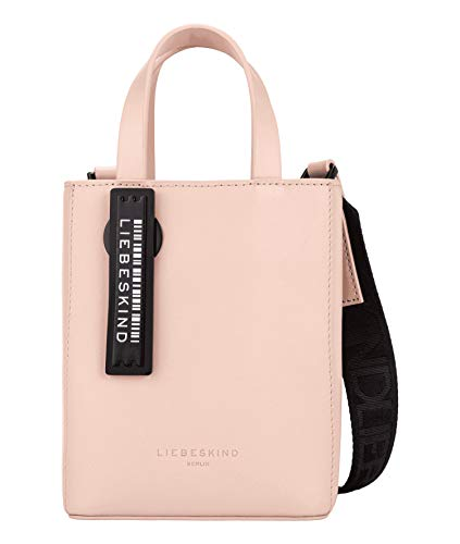 Liebeskind Berlin Damen Paper Bag Tote, Dusty Rose, 13x17x5 cm
