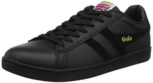 Gola Herren Equipe Sneaker, Schwarz (Black/Black/Black Bx), 44 EU