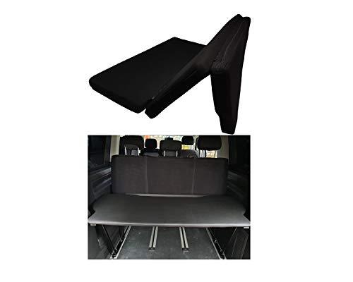 BREMER SITZBEZÜGE Multivan Multiflexboard Bettverlängerung klappbar Inkl. Matratze kompatibel mit VW T5 & T6 FB:D01