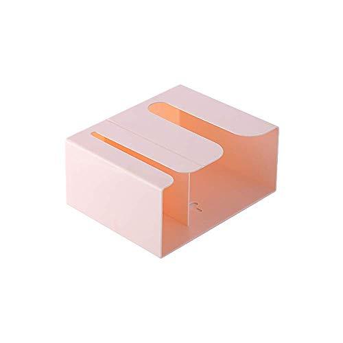 Suytan 1 Pieza Rosa Rollo de Papel Higiénico Dispensador de Toallas de Mano Organizador de Baño Soporte Perfecto para Cocina