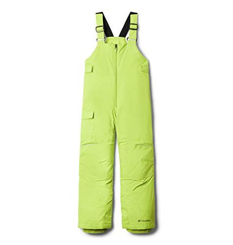 Columbia Unisex-Youth Adventure Ride Bib, Bright Chartreuse, 2T