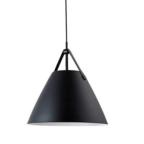 Scandinavische moderne minimalistische hanglamp, 270 mm aluminium enkele kop riem kroonluchter, Macarons kleur eetkamer woonkamer slaapkamer mode licht.