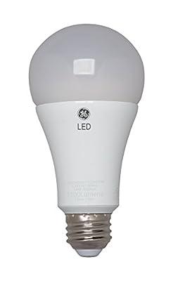 GE Lighting 23005 Extra Soft White LED 14-Watt (75-Watt Replacement), 1100-Lumen Dimmable A21 Light Bulb with Medium Base, 1-Pack