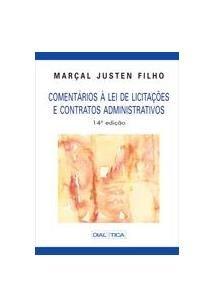 Comentários À Lei De Licitações E Contratos Administrativos - 14ª Ed. 2010 (Capa Dura)