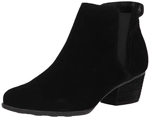 Blondo womens Bootie Fashion Boot, Black Suede, 8.5 US