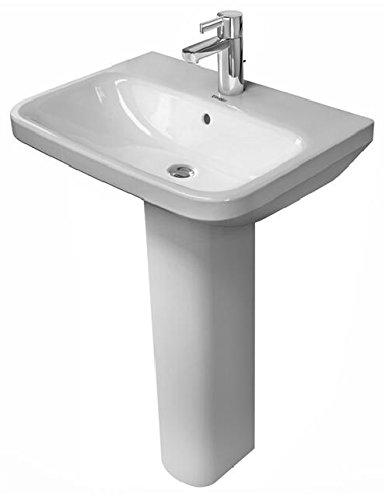 Duravit DuraStyle Waschtisch mit Überlauf, 600 mm • 600 x 440mm, weiß 2319600000