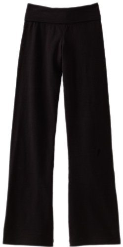 Soffe Big Girls' Yoga Pant, Black, X-Large