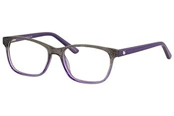 Hello Kitty Youth Girl s Eyeglasses HK307 HK/307 1-Purple Glitter Optical Frame