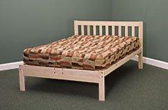 Hot Sale Queen Size Charleston Platform Bed Frame - Solid Hardwood