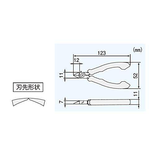 エンジニアマイクロニッパーESD静電気対策123㎜NP-05