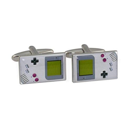 Retro Handheld Game Stil Manschettenknöpfe