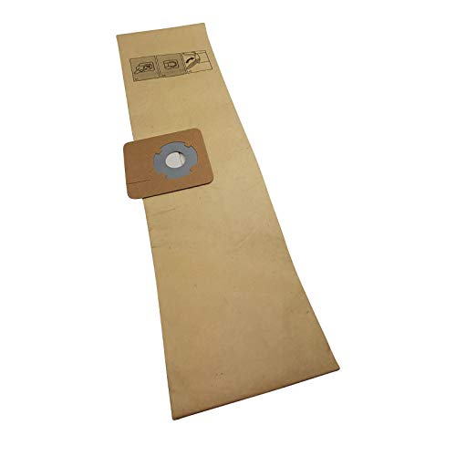 Reinica 10 Papier Staubsaugerbeutel für Wetrok Monovac 6 Plus Saugerbeutel Staubbeutel Filtertüten Beutel Tüten Papierbeutel Staubsaugertüten