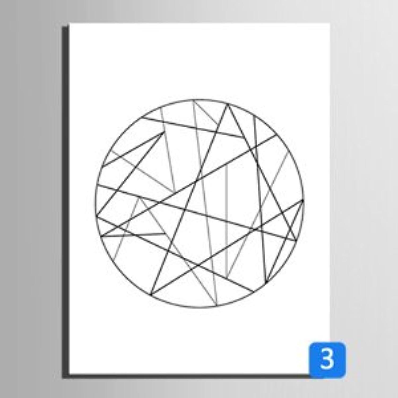 RUNDESHEBEI Y&M Einzelne geometrische Linien dekorative Malerei, Rahmen Malerei, dekorative Malerei das Wohnzimmer Restaurant, 35  50 B072JTFQ2R  | Heißer Verkauf