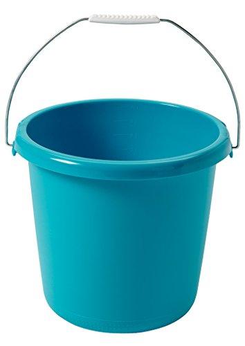 CURVER Eimer 10L in Molokai blau, Plastik, 30 x 30 x 25 cm