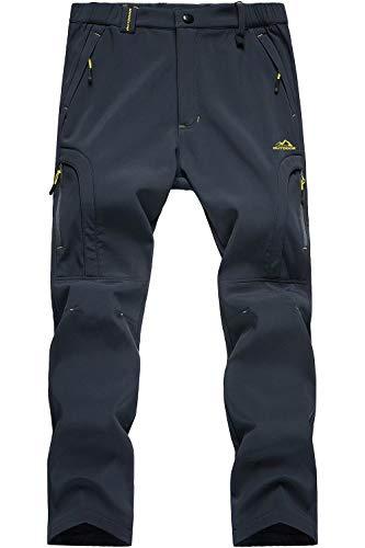 MAGCOMSEN Men's Winter Fleece Lined Pants