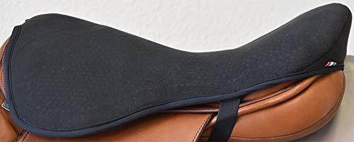 """Acavallo Gelpolster Dressursattel Dri-Lex 10 mm Farbe: schwarz Größe: M(16-17\"""")"""