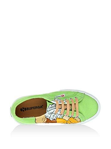 SUPERGA Sneaker Cartoon 2750-Disney Mammolcotj Lime EU 28
