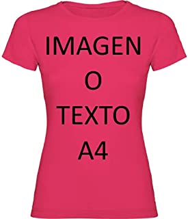 Camisetas Personalizadas Mujer. T-Shirts para Regalos, Eventos, Uniformes