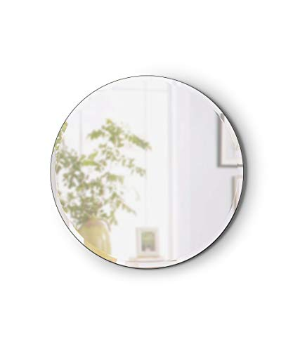Umbra Hub Beveled Round Mirror