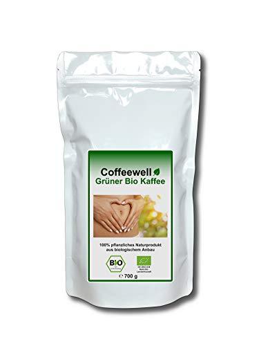 Grüner Bio Kaffee 700g