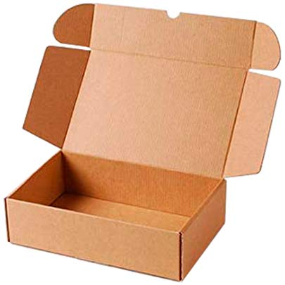 packer PRO Pack 25 Cajas Carton Envios Kraft Automontables para Ecommerce y postal, Mediana 34x23,5x11cm