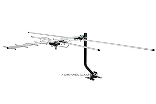 ViewTV DA-290 Indoor/Outdoor Compact Yagi HDTV Antenna for Roof or Attic - 80 Miles Range