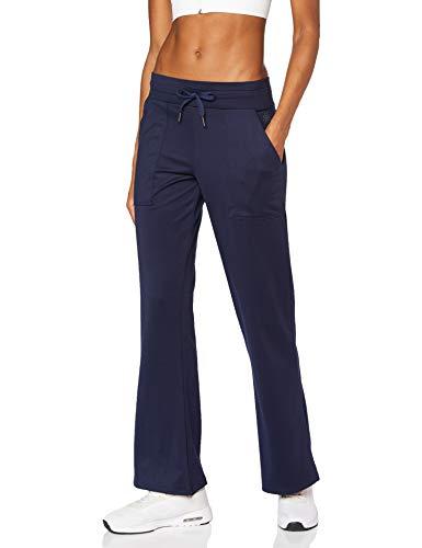 AURIQUE Pantaloni Yoga Donna, Blu (navy), 44, Label:M