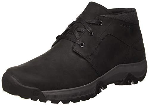 Merrell Herren ANVIK PACE Chukka Boots, Schwarz (Black Black), 40 EU