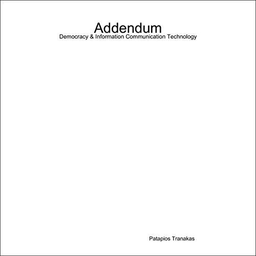Addendum: Democracy and Information Communication Technology audiobook cover art