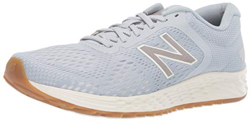 New Balance Women's Arishi V2 Fresh Foam Running Shoe, Light Cyclone/sea Salt/Champagne Metallic, 7 M US
