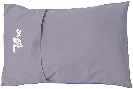 MyPillow Roll GoAnywhere Pillow Frosted Gray product image