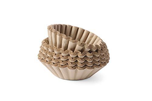 HENDI Kaffeefilterpapier, für Kaffeegeräte von Hendi, Bravilor, Animo, Durchmesser filter 205mm, Durchmesser Unterseite filter 110mm, ø250x(H)70mm