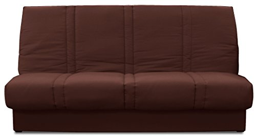 Relaxima Dalila Banquette-Lit Chocolat 194 x 98 x 100 cm