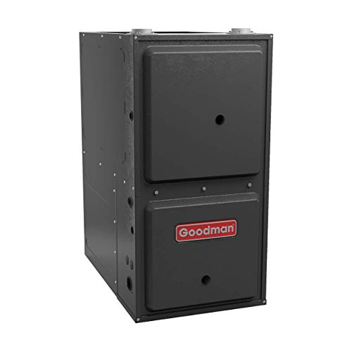 Cheap GCVM970804CN Goodman Gas Furnace, 80,000 BTU/H, 97% AFUE Downflow/Horiz Modulating Variable-Sp...